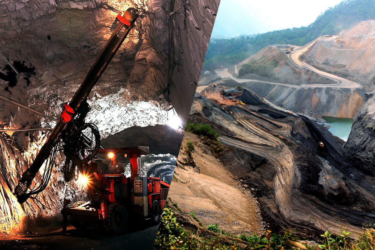 Mina a cielo abierto versus mina subterránea. ¿Cuál es la diferencia?