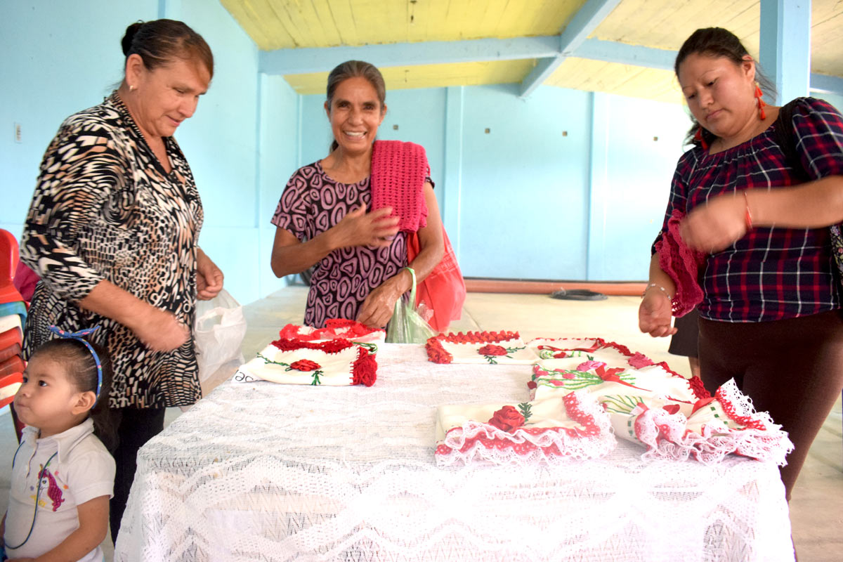 Programa Contigo Mujer en la Sierra de Hidalgo