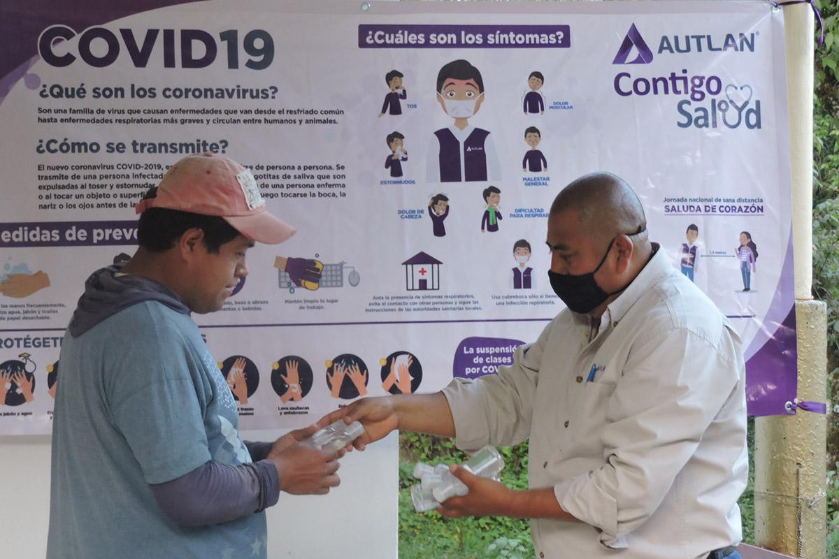 Autlán y Comunidad, juntos contra el COVID-19