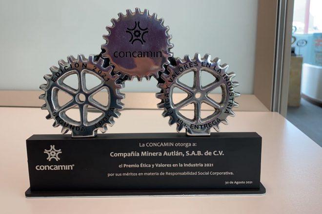 ¡Autlán obtiene Premio Ética y Valores por segunda vez consecutiva!